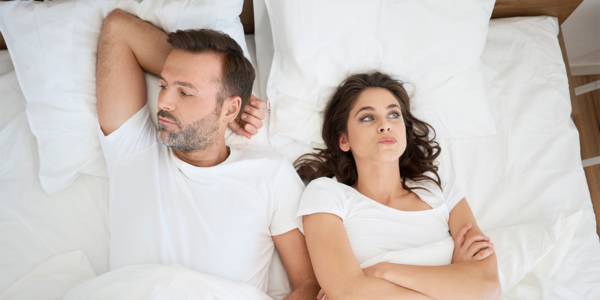 Annoyed Couple with relationship pet peeves